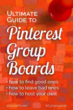 Pinterest marketing tips: Group Boards are touted to increase your reach, repins, and followers. But do they? Click to learn how to find good ones, leave others, and host your own. A must-read for small business owners and bloggers!