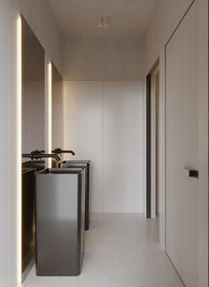 Marra Group, an architecture and interior design studio, designed the interiors for Moscow-based jewlery brand, SABIN. Italian Interior Design, Interior Design Studio, Bathroom Interior Design, Home Interior, Burgundy Bathroom, Restroom Design, Bathroom Countertops, Shop Interiors, Commercial Design