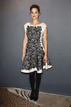 Marion Cotillard in Christian Dior (2012 Chaumet César Awards Révélations dinner)