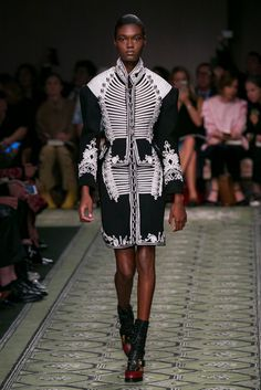 Christopher Bailey presents see-now/buy-now collections for both men and women.