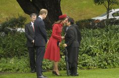 Day one: The Duke and Duchess of Cambridge arrive in New Zealand