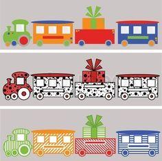'train, cartoon, transportation'