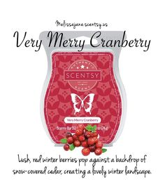 Scentsy 2016 | Very Merry Cranberry | New Holiday | Fall & Winter | #scentsy…