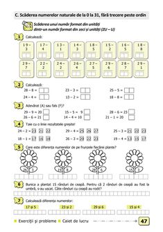 Math For Kids, Fun Math, Activities For Kids, Curriculum, Homeschool, Math School, Kids Education, Worksheets, Parenting