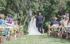 #ringsontheizings Whimsical Wedding: woodland, whimsical, fairy tale, summer, outdoors, happily ever after, wedding aisle, wildflowers, rustic, ranch decor, DIY Floral: Margareta Warlick Photographer: Taja Sparks Ari-Drive