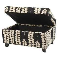 Large Printed Ottoman, $62.98  Saw this the other day on target.com