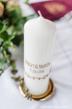 romantisch schlichte Hochzeitskerze #hochzeitskerze #schlichtehochzeitskerze #romantisch #brautkerze #heiraten #wedding #hochzeit #ja #diekerzentante