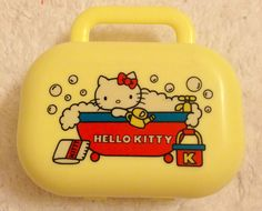 Hello kitty soap container 1976
