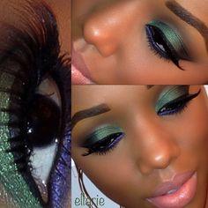 eyes and lips by @motivescosmetics  - @Ella Klassen