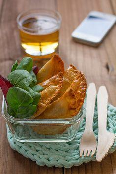 Cocinando sabores: Recetas para tupper: Empanadillas de atún