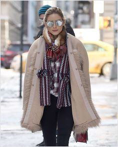 OliviaPalermoFrance: Candids 10 Janvier 2017 - Olivia out in Brooklyn
