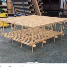 Our Director Matt Gibberd has commissioned Turner Prize winners Assemble to design a garden studio, inspired by the timber-framed structures of Swiss architect Walter Segal. This 1:10 model of the project is being exhibited at the Architectural Association, as part of the Walter Segal show that opens this weekend. Structural engineering by @structure.workshop #regram @louis_yolo_dotorg #assemble #aa #architecturalassociation #modernism #timberframe #selfbuild #segalmethod #waltersegal…