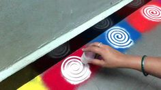 how to make new border rangoli design