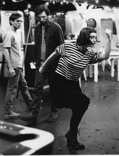 """Elina Löwensohn dances in """"Simple Men"""""""
