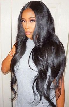 Lace Front Wigs Dark Hair With Highlights Straight Sa Hair Straightene - Loverlywigs