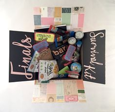Finals and midterms are hard! The student in your life is probably really stressed, fortunately for them, they have you. Send them a box full of encouragement! Our Finals Survival Kit care package is