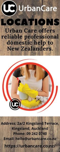 Urban Care offers reliable professional domestic help to New Zealanders. Residents in Auckland, Christchurch, and Wellington can book a Clean, Nanny, or Caregiver fast and quick either through our Mobile App or a computer.We have trained professionals ready to provide our dear clients valuable and high-quality Home Cleaning. Domestic Cleaning Services, Professional Services, Caregiver, Auckland, Clean House, Mobile App, Terrace, Urban, Book