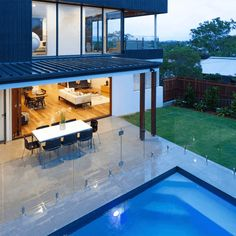 Frameless Glass Pool Fence by Aquaview Fencing