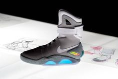 The Nike Mag is real. 1500 pairs auctioned on eBay, all proceeds going to the Michael J. Fox Foundation. Good on Nike.