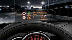 2014 mini cooper heads up display