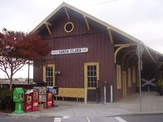 Train Stations - the older the better Santa Clara County, Train Stations, San Jose, Maps, The Neighbourhood, Shed, Old Things, Outdoor Structures, The Neighborhood