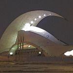 Auditorio de Tenerife de noche