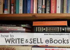 How to Write and Sell eBooks