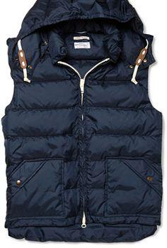 Down vest, $265 by Gant Rugger