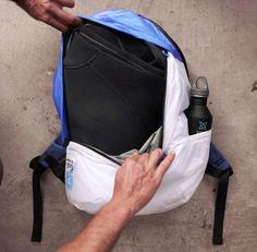Deep Blue Bag: Yves Behar for Mafia Bags and Sustainable Surf