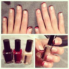 """""""french"""" manicure"""