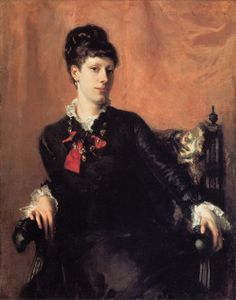 Miss Frances Sherborne Ridley Watts : John Singer Sargent : Art Scans : Scanopia