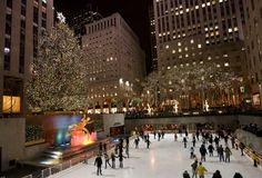 New York Christmas Tree, Christmas Travel, Christmas And New Year, Christmas Time, Holiday Lights, Christmas Lights, Holiday Decor, Holiday Ideas, New York Photos