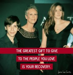 The 10 Most Inspirational Jamie Lee Curtis Quotes on Recovery   Duffy's Napa Valley Rehab