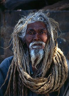 Picture of a Sadhu We Are The World, People Of The World, Portraits, Many Faces, Interesting Faces, Locs, Dreadlocks Men, Beautiful People, Natural Hair Styles