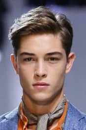 """Short Textured Haircuts for Men If you have medium textured hair with natural body, try this hairstyle for men. We call it, """"A little longer on top. Side Part Haircut, Side Part Hairstyles, Men's Hairstyles, Young Mens Hairstyles, Amazing Hairstyles, Formal Hairstyles, Men's Medium Hairstyles, Preppy Hairstyles, Hairstyles For Teenage Guys"""