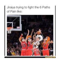 Jiraiya :( #naruto #funny