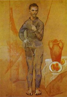 Juggler with Still-Life (1905) by Pablo Picasso  (National Gallery of Art, Washington, D.C.)
