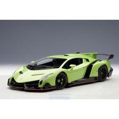 Lamborghini Veneno 2013 (verde ithaca/metallic green)