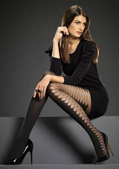 Levante Laced Side Seam Tights