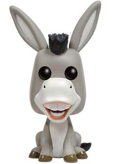 Shrek POP! Movies Vinyl Figur Donkey 9 cm    Shrek - Hadesflamme - Merchandise - Onlineshop für alles was das (Fan) Herz begehrt!