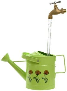 Universal Home and Garden SPL11 Small Watering Can Fountain Lime ** You can get additional details at the image link.