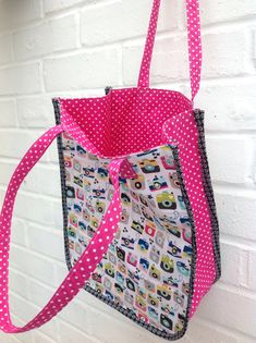 Sew yourself a simple tote bag for carrying your everyday essentials using this free sewing tutorial.