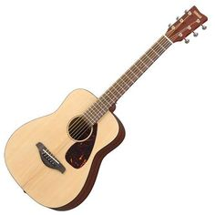 Yamaha JR2 3/4 Scale Acoustic Travel Guitar with rosewood fingerboard, Mahogany Finish, Spruce Top