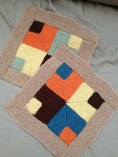 Ravelry: Project Gallery for Mitered Crosses Blanket FOR MERCY CORPS pattern by Kay Gardiner