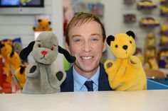 Richard Cadell, and at the GB Toys Stand 2000s Kids Shows, Old Kids Shows, Golden Bear, Bear Toy, My Childhood Memories, Old Tv, Dinosaur Stuffed Animal, Cartoons, The Incredibles