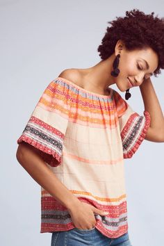 AS by DF Petra Off-The-Shoulder Top