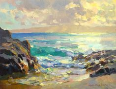 Sunset at Secret Beach, Kevin Macpherson