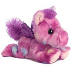 7 Inch TUTTI Frutti Purple Pegasus Plush Stuffed Animal by Aurora for sale online Talking Hamster, Diy Crafts For Girls, Cute Stuffed Animals, Beanie Boos, Build A Bear, Tutti Frutti, Pegasus, Plushies, Pet Toys