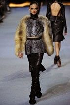Now I ain't saying she's a Gold Digger. Paris Fashion Week  Kanye West Ready-To-Wear  Autumn/Winter 2012-13