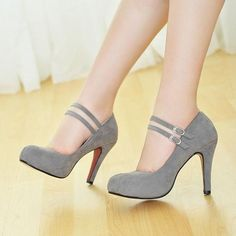 New 2015 Hot Selling Plus size 30-43 Women Pumps PU leather Sexy High Heels platform Wedding Shoes Fashion Style 4 color > Nice plus size clothing shop for everybody #cutePlussizeclothessimple